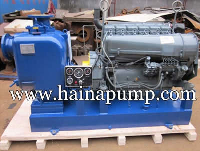 Diesel-Engine-Driven-Self-priming-Trash-Pumps