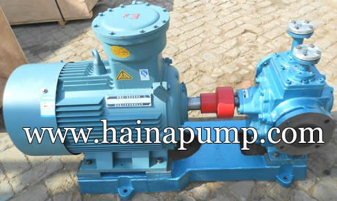 Heat-insulation-gear-pump-with-motor