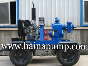 Diesel Engine Driven Self Priming Trash Pump(PW-C-series)