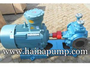 Heat insulating gear pump