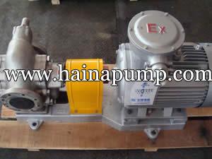 Vegetable oil pump
